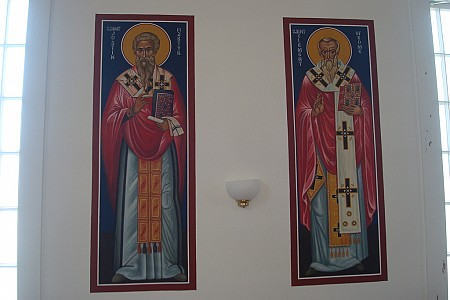 St. Justin Martyr and St. Clement of Rome