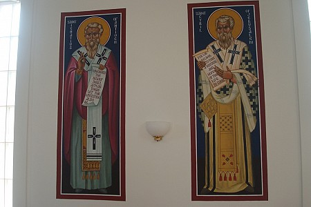 St. Ignatius of Antioch and St. Cyril of Jerusalem